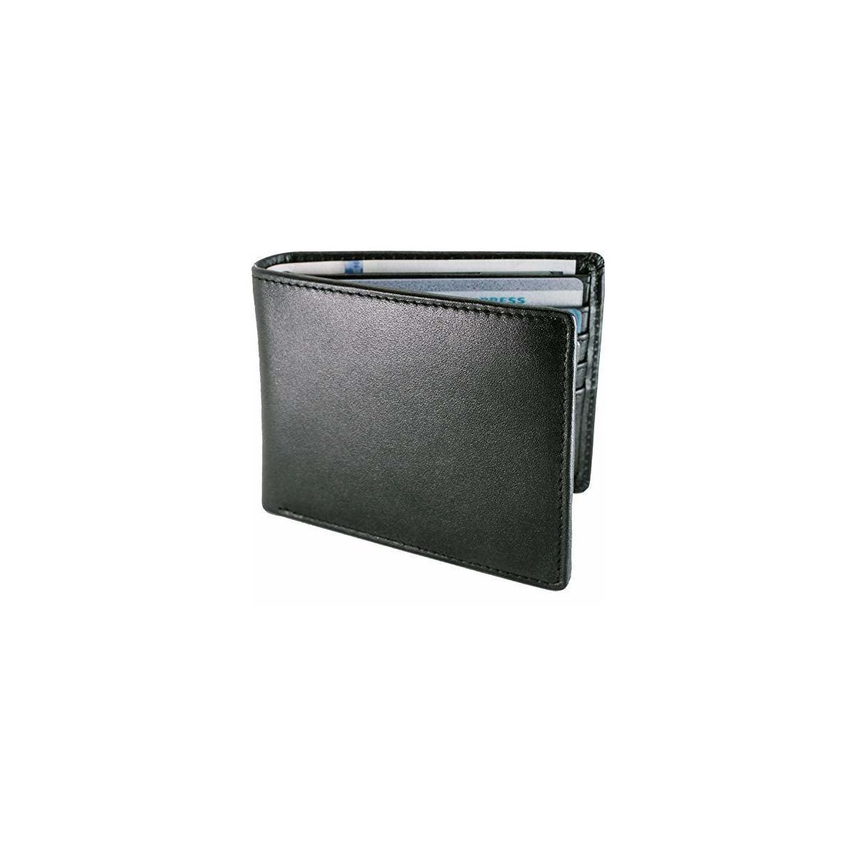 Luxurious Mens RFID Trifold Wallet | Leather Wallets For Men RFID Blocking | Genuine Leather | Extra Capacity Mens Wallet