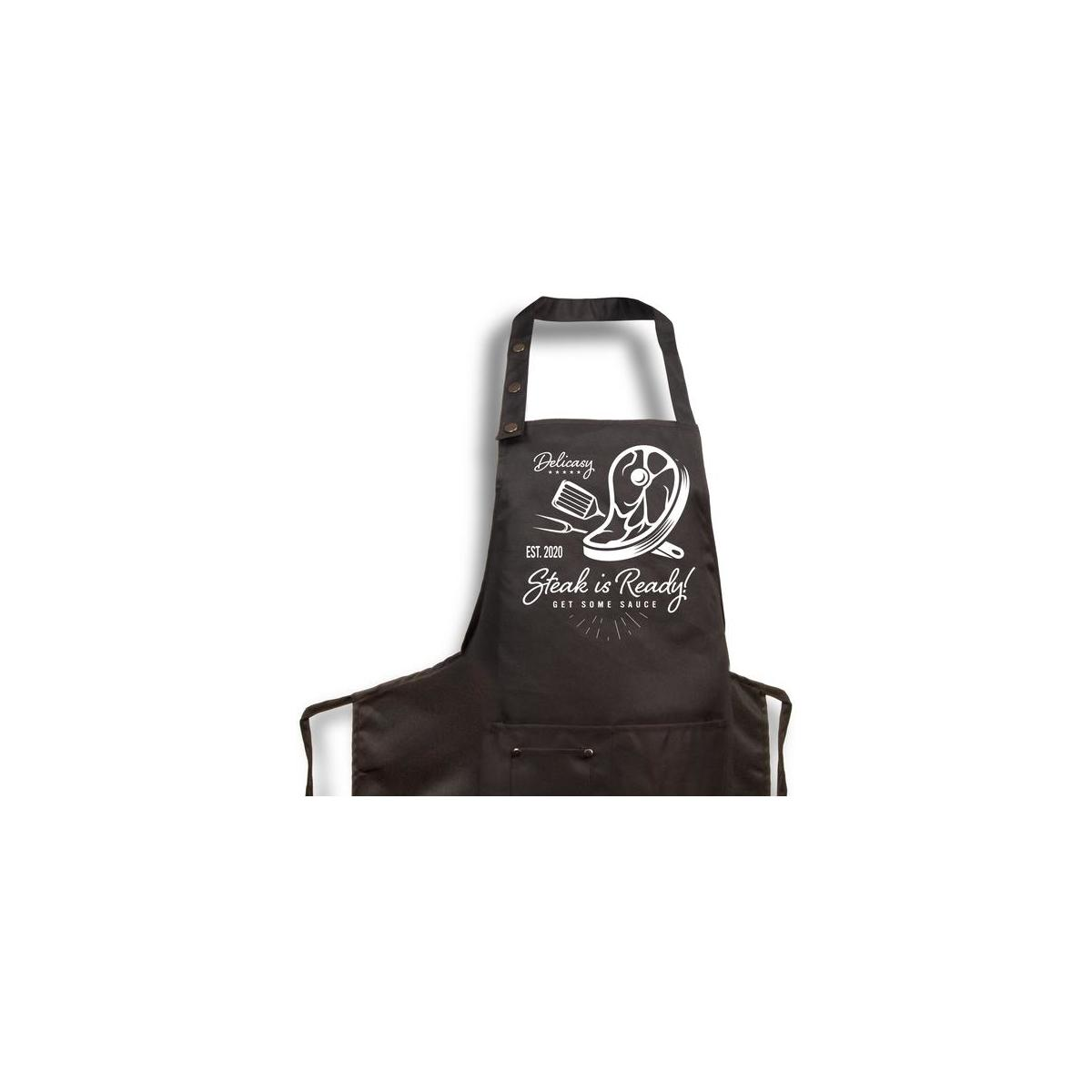 Funny Aprons - Choose 1 out of 10 new designs  - Cooking Grilling Chef Apron for Men or Women - Great Gift Item