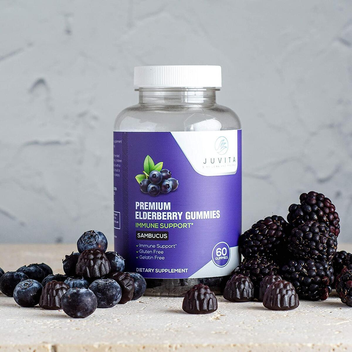 Immune boosting Elderberry Gummies