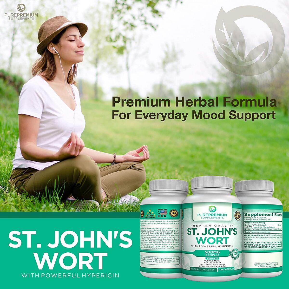 Premium St Johns Wort Supplement
