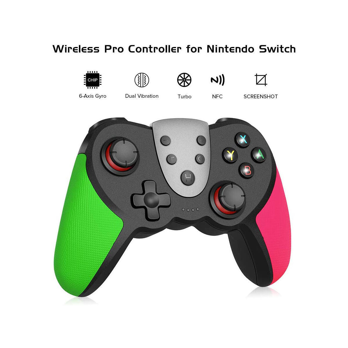 Nintendo Switch Controllers-green