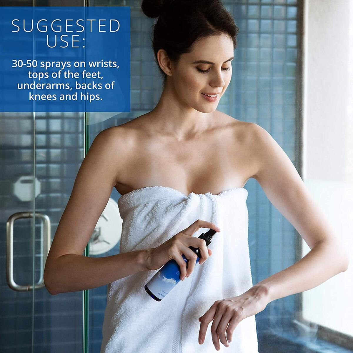 Activation Products Ease Magnesium Spray - Pure Magnesium for Joint and Muscle Pain, Leg Cramp Relief - Sleep Supplement for Restless Leg Syndrome Relief - Includes eBook, 250ml / 8 Fl.Oz.