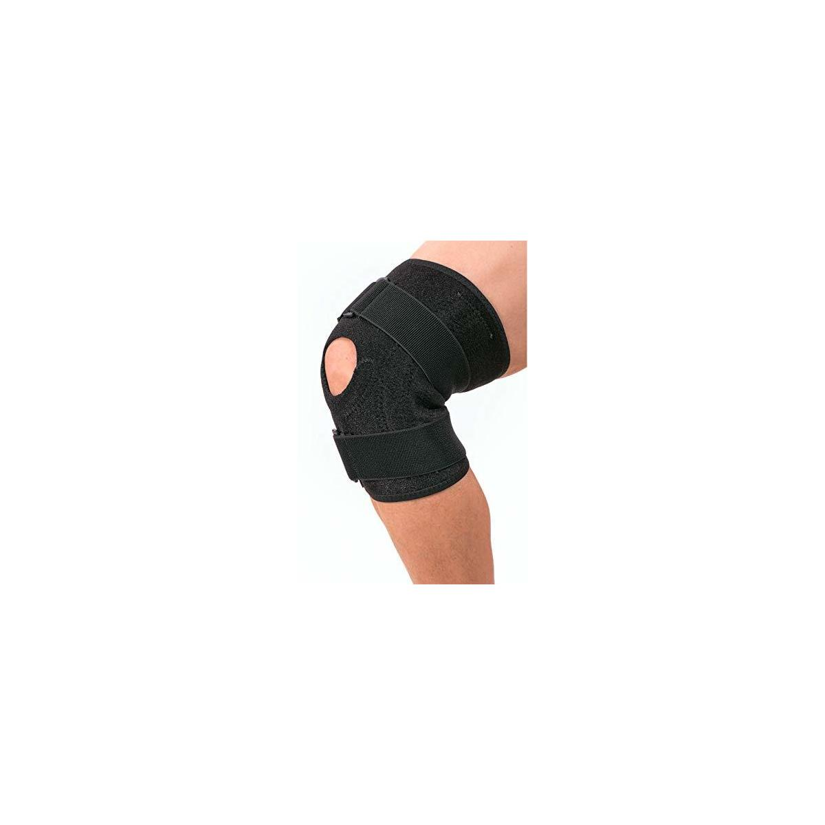 Royal Signet Open Patellar Knee Brace for Arthritis Pain and Support. Adjustable Knee Support Post Surgery, Fluid and Swelling Knee Protector and Stabilizer. Knee Braces for Women Plus Size, and Men