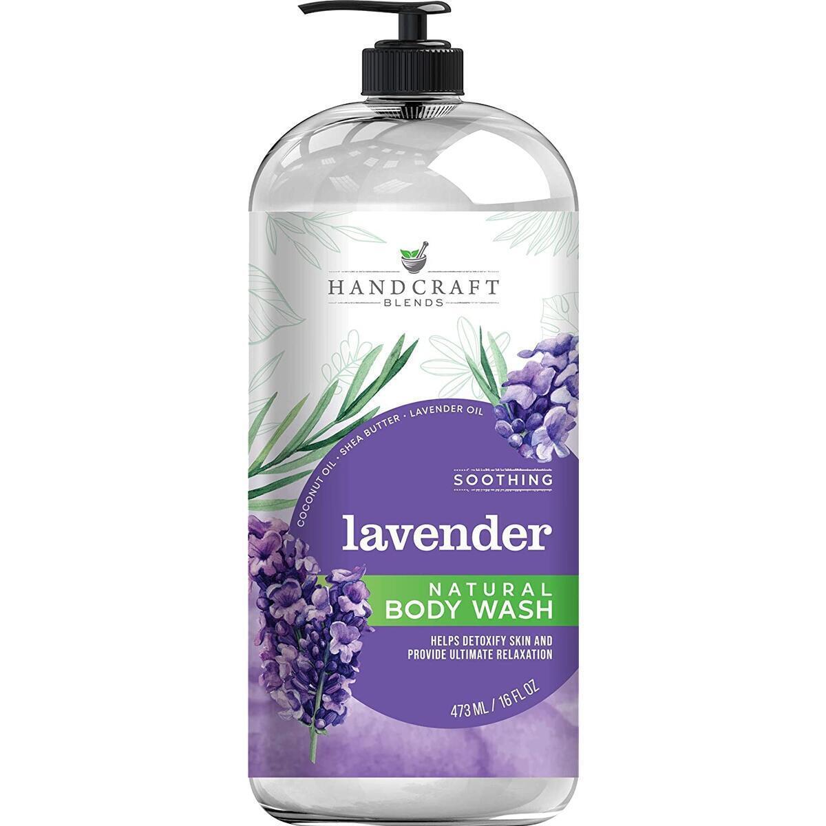 Handcraft Lavender Body Wash 16 oz