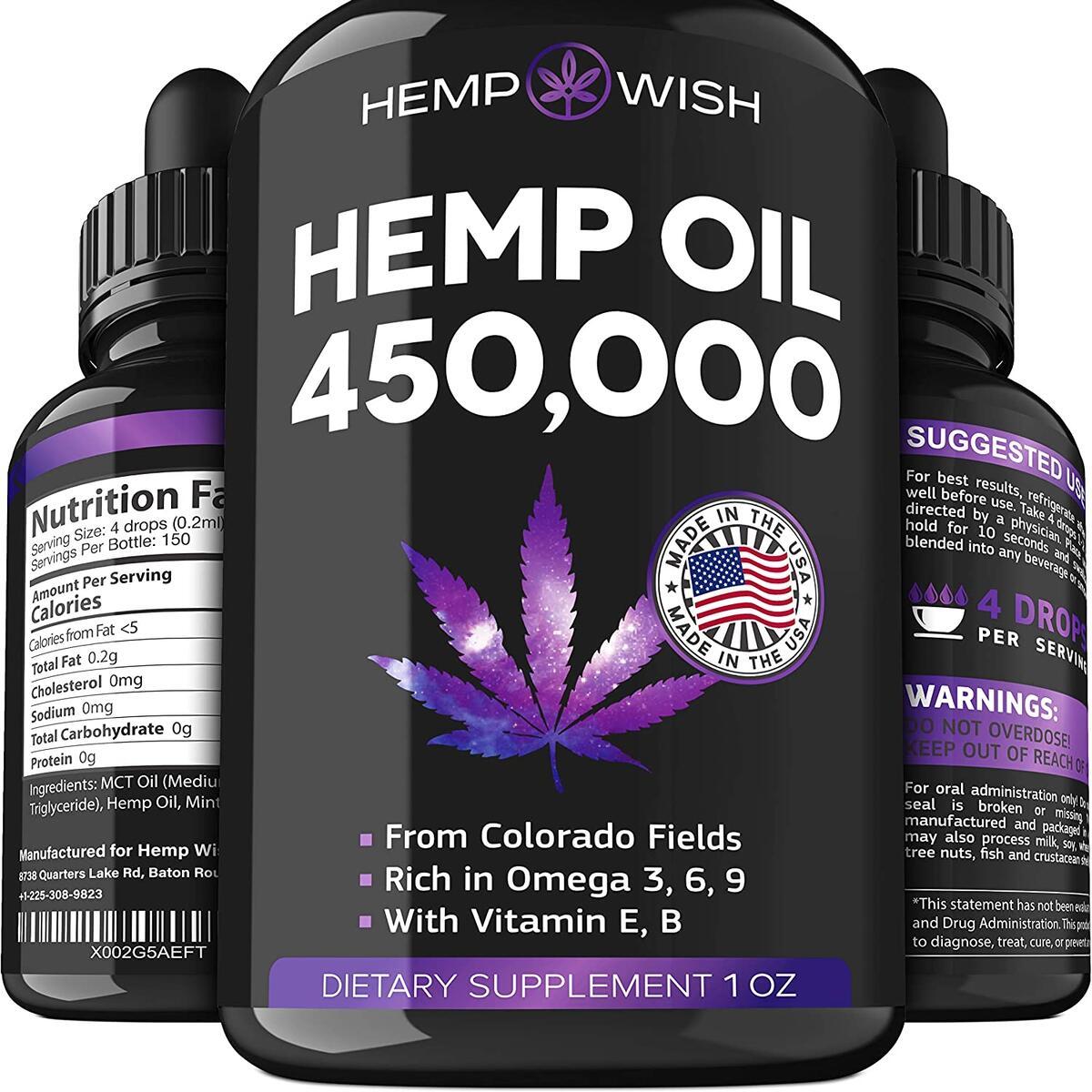 Hemp Oil 450,000