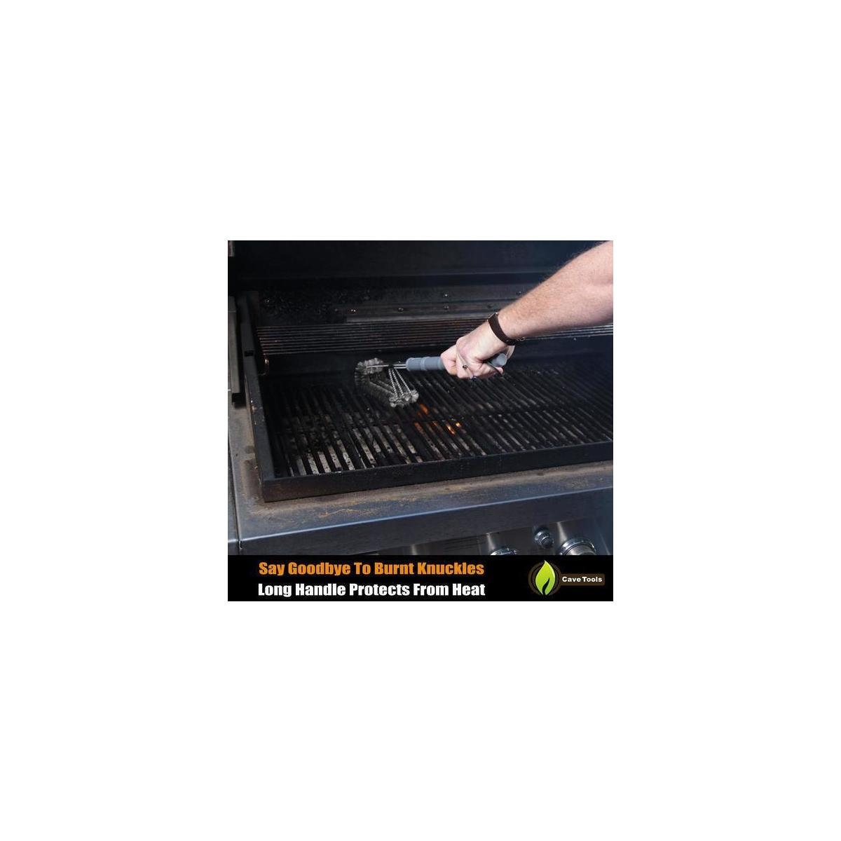 Grill Brush Rust Proof Stainless Steel