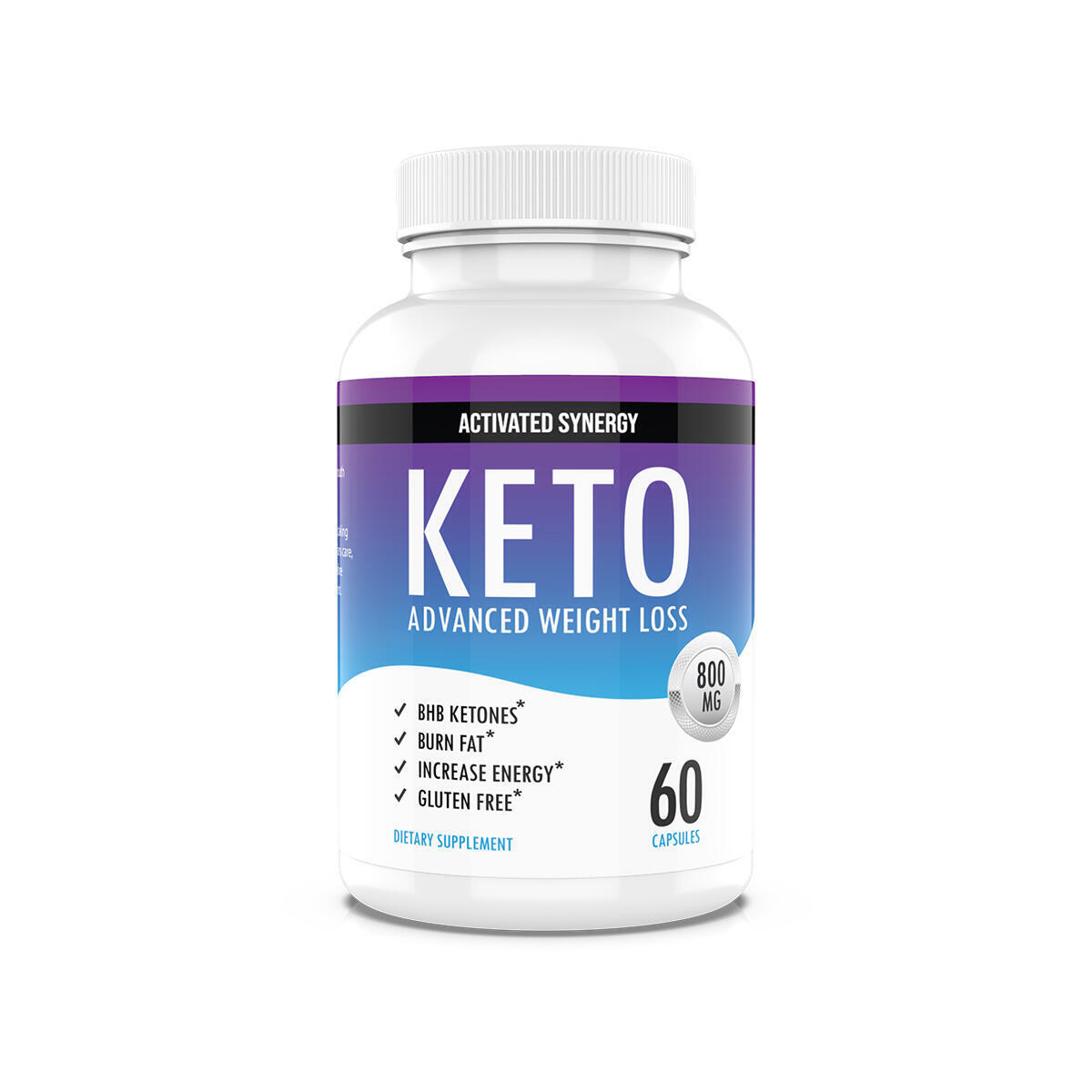 Keto Pills Diet Number One Rapid Premium Advanced Ketosis Boost Energy & Focus Manage Cravings Support Metabolism Keto BHB Supplement for Women and Men 30 Day Supply 60 Capsules