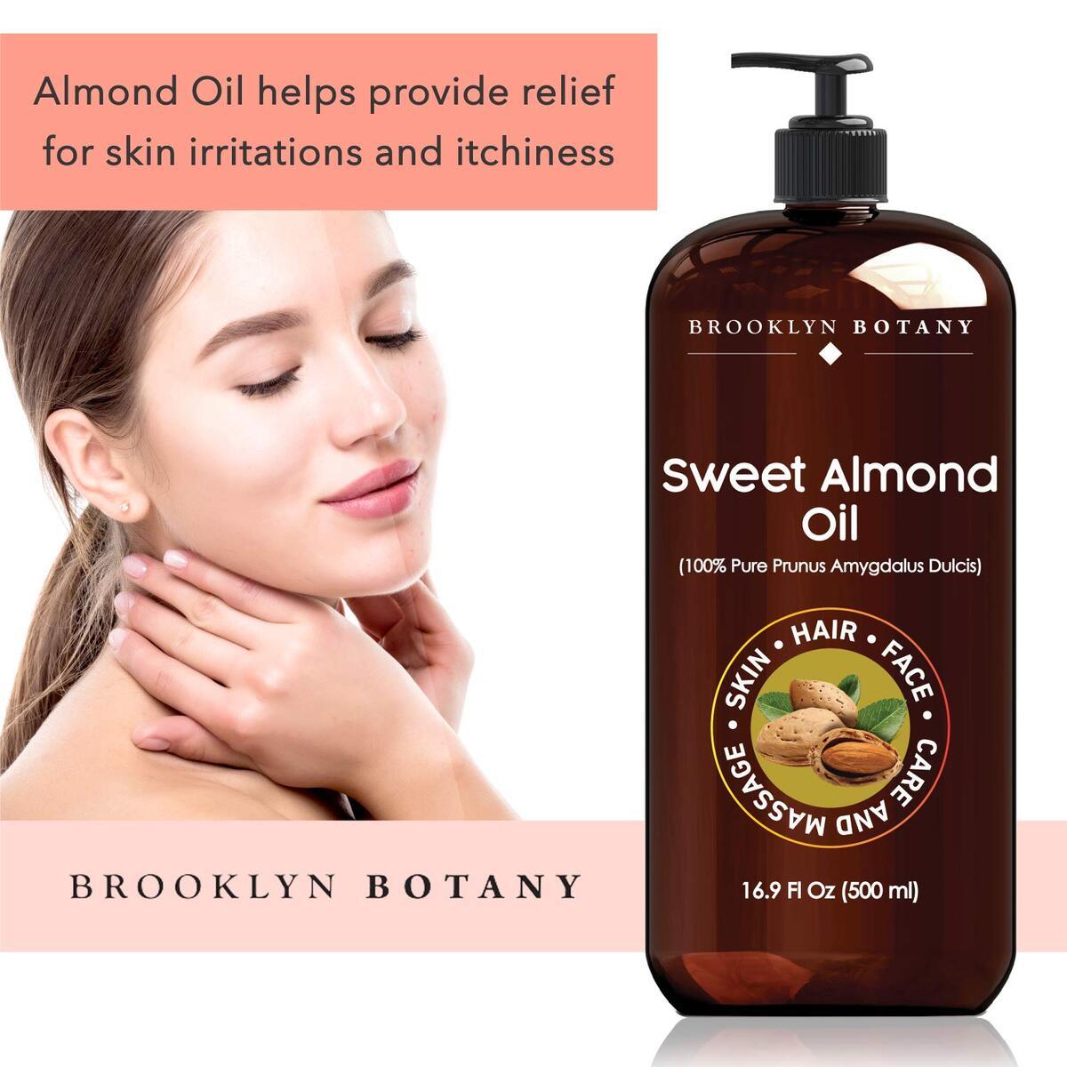 Sweet Almond Oil 16 oz