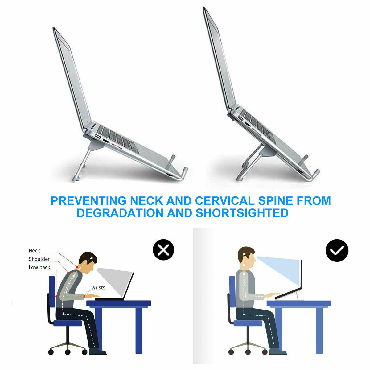 Adjustable Portable Foldable Notebook Table Stand Tray Lazy Laptop Computer Desk