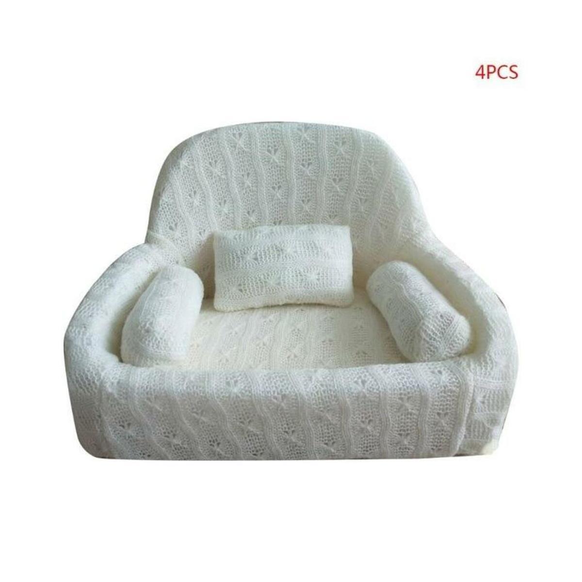 Pets Baby Sofa Pillow Set Chair 4 pcs/set