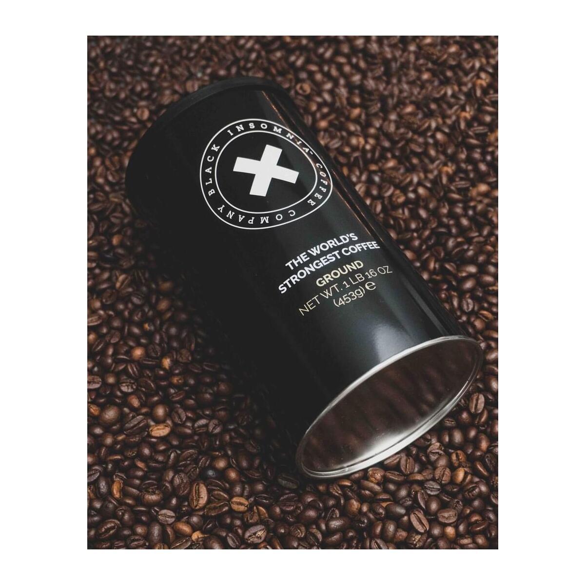 Black Insomnia World's Strongest Coffee - Ground 1lb