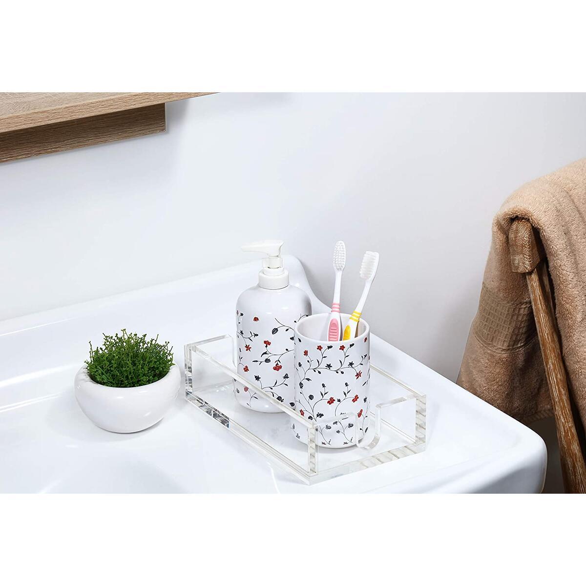 Acrylic Napkin Holder Guest Towel Holder