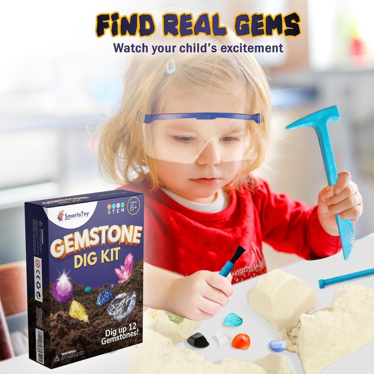 Kids activity- Gemstone did kit