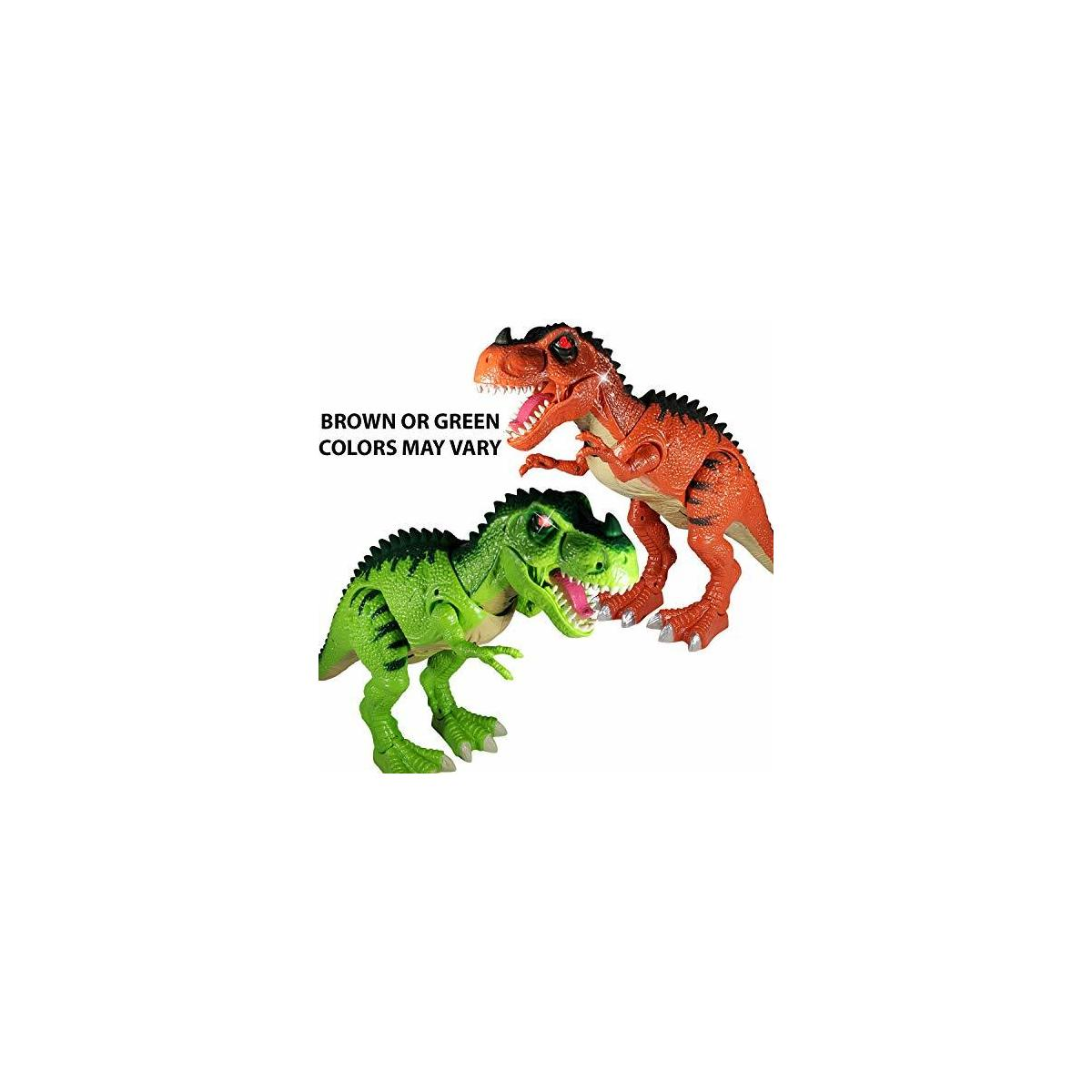 Battery Operated Large T-Rex Walking Dinosaur Toy