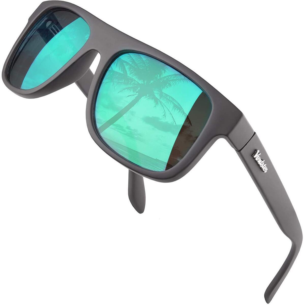 Verdster Islander 2020 Retro Square Frame - Classic Design Sunglasses for Men and Women