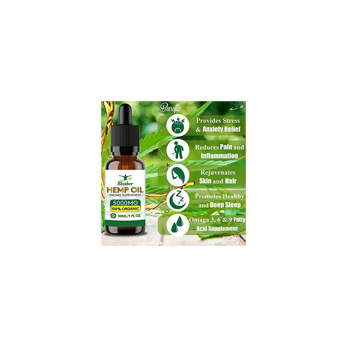 Hemp Seed Oil - THC FREE