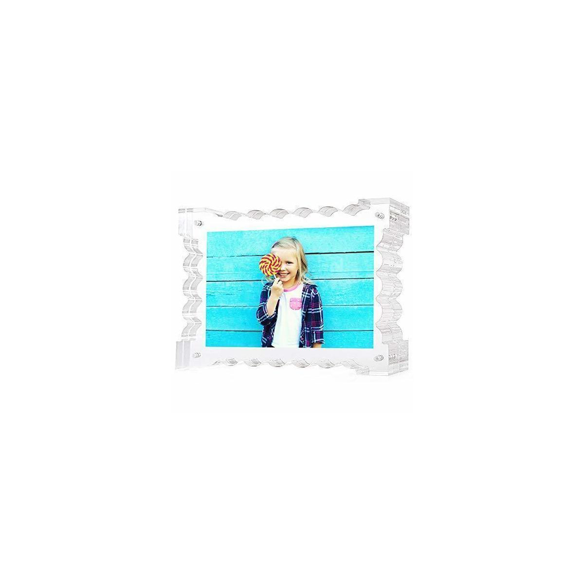 Floating Double Sided Picture Frame