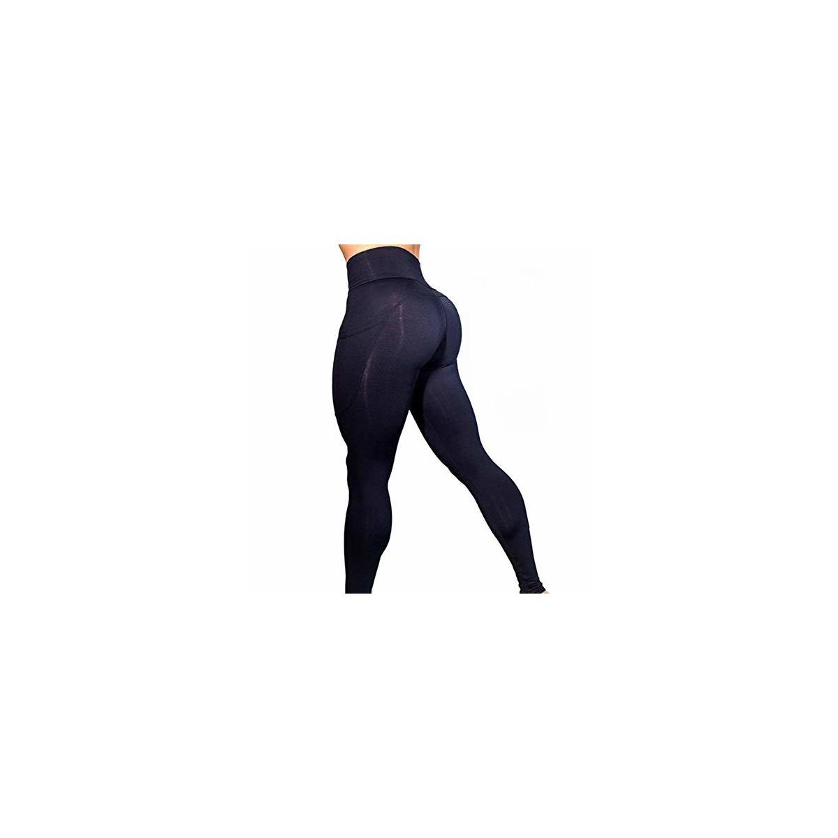 ZENSATION Women's Yoga Pants with High Waste for Improved Tummy Control, with Comfortable Pockets