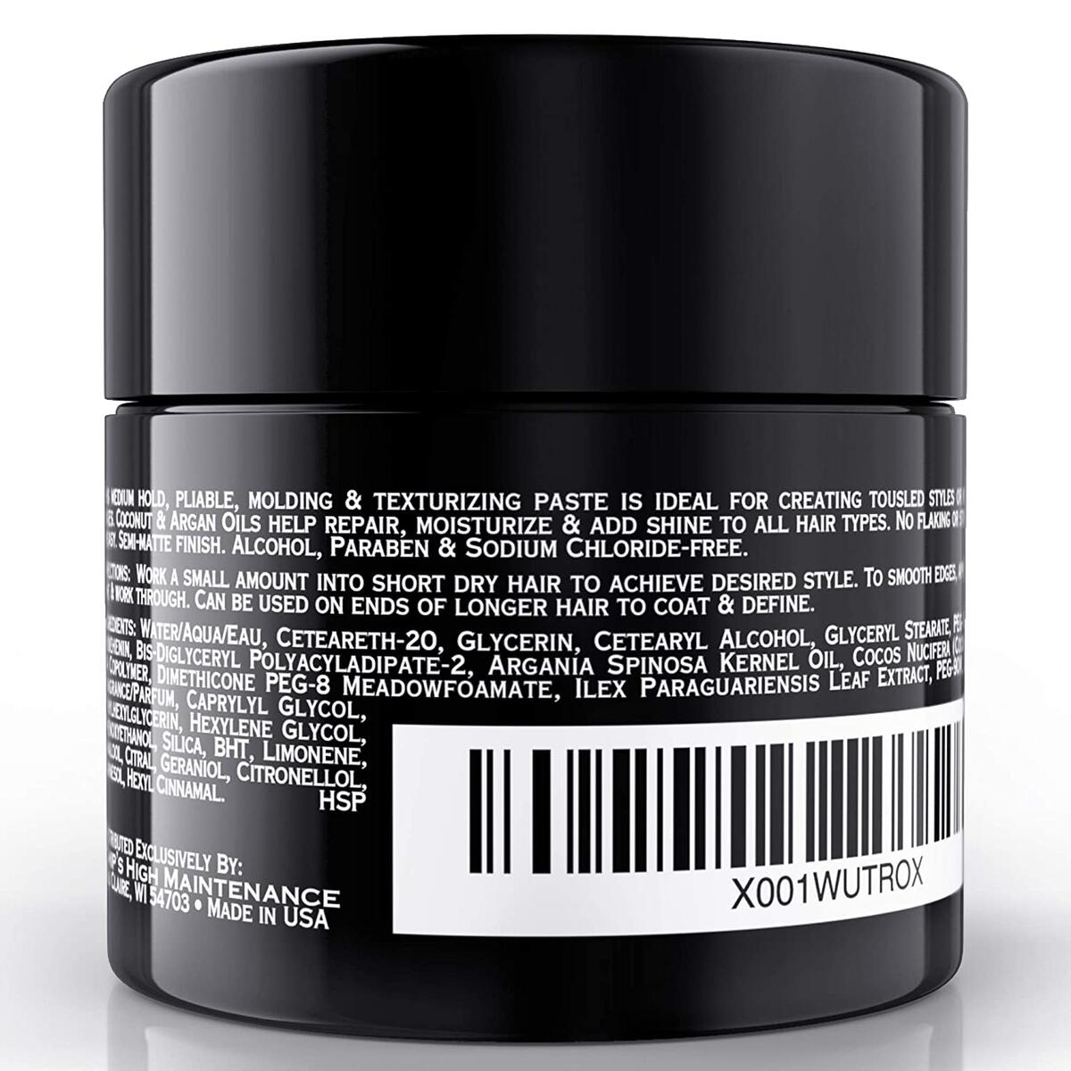 Texture Paste 2 oz - Chips High Maintenance - Gift for Men