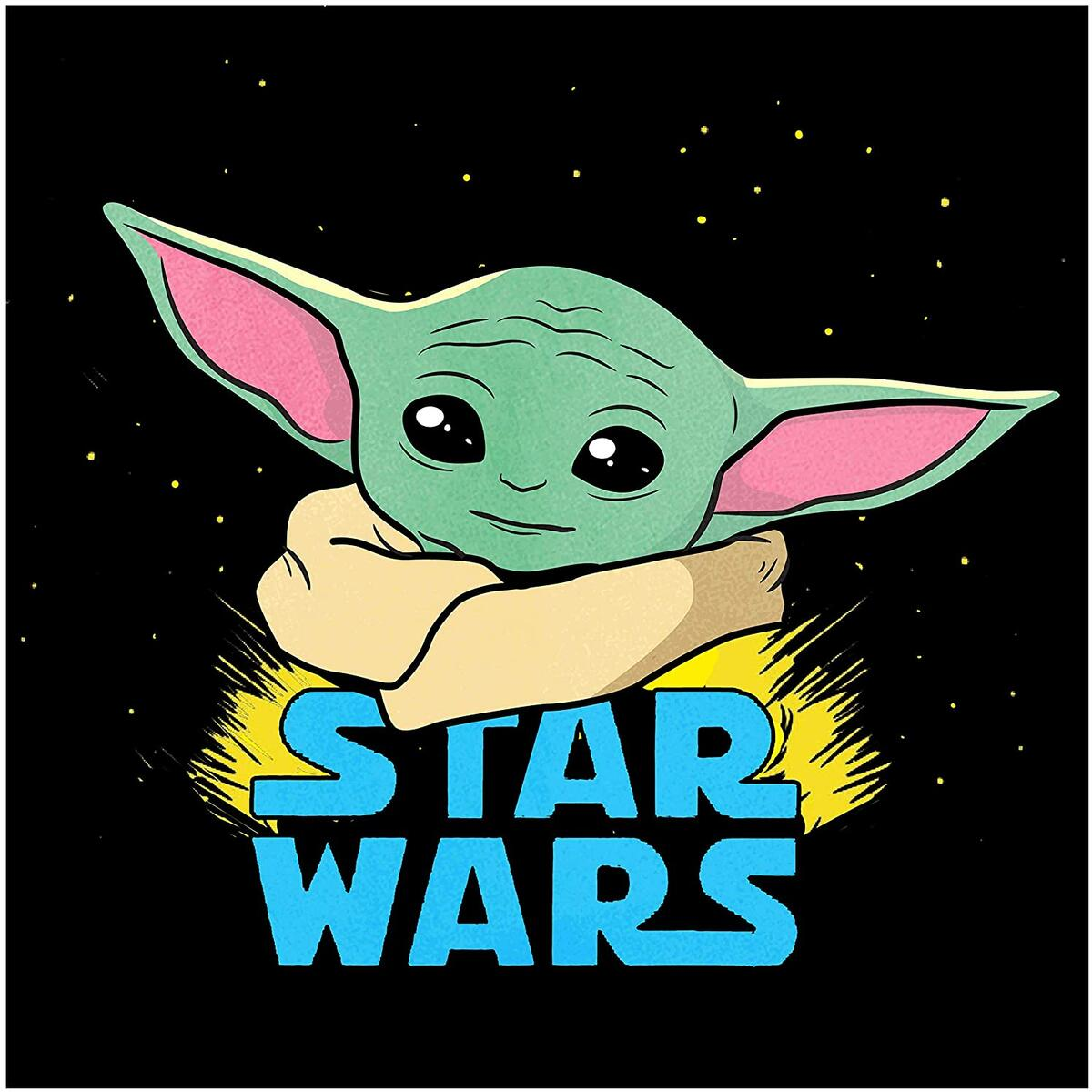 Baby Yoda Diamond Painting Kits for Adults and Kids -  The Mandalorian Child Headshot Star Wars Baby Yoda Paint by Number with Gems Craft Kit 8.7
