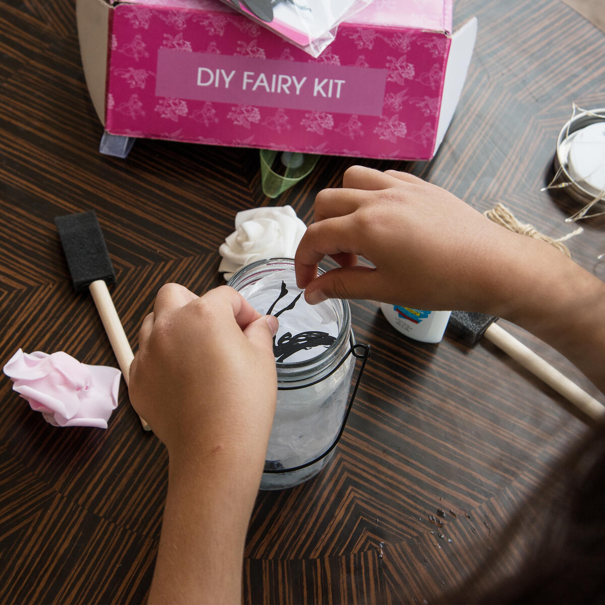 Fairy Lantern Craft Kit DIY [2 Pack] Fairy Night Lights - Art Crafts