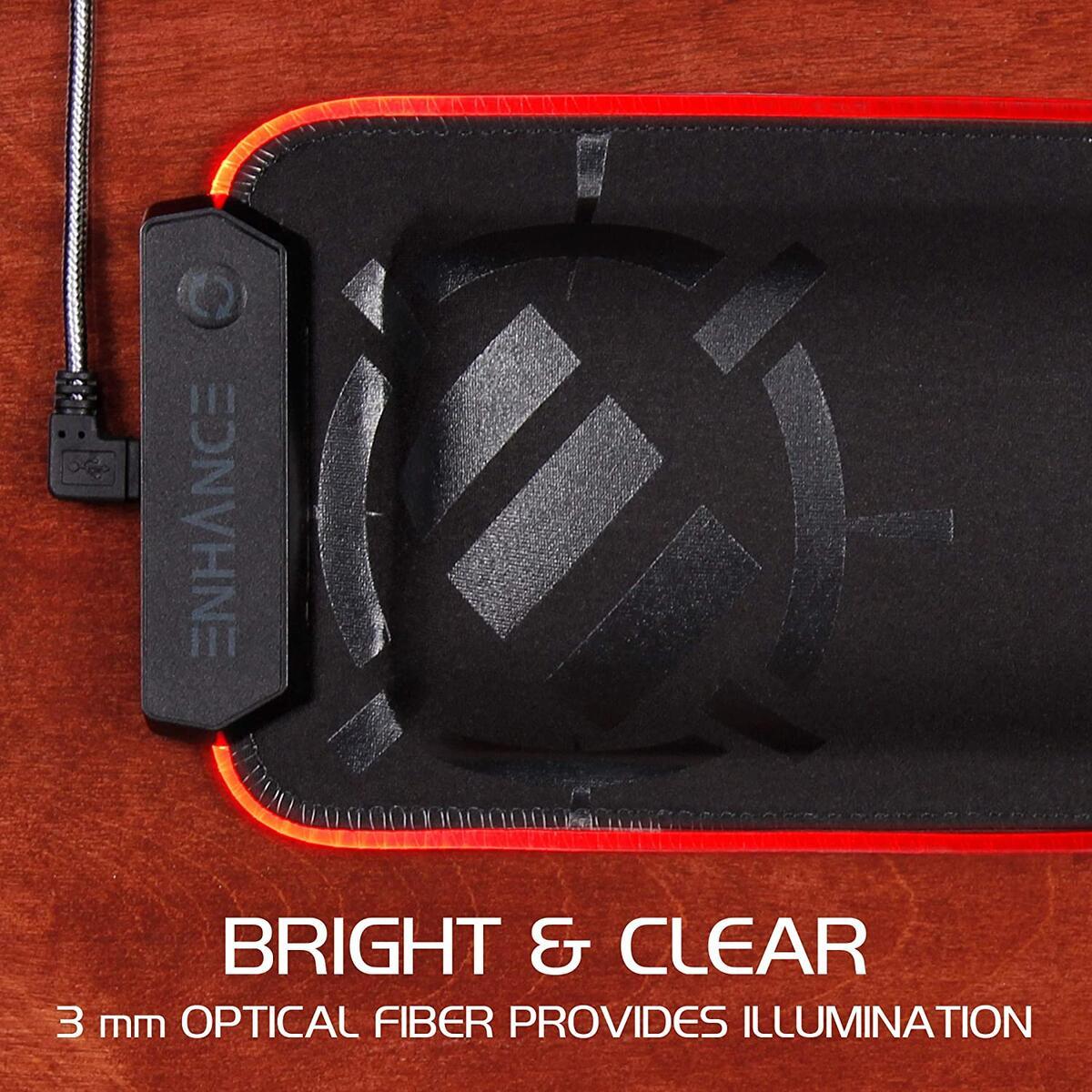 ENHANCE LED Gaming Keyboard Wrist Rest Pad