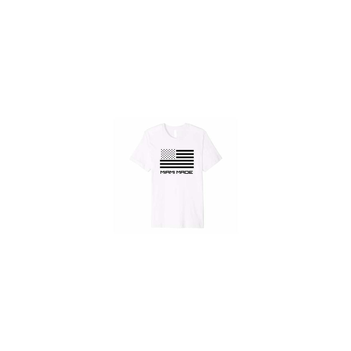 Miami Made Branded Premium T-Shirt