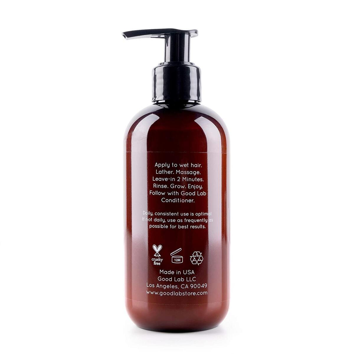 Good Lab Blooming & Thickening Shampoo for Hair Loss, Thinning, & Hair Growth - Packed with DHT Blockers & Antioxidants - Natural Ingredients - Sulfate-Free - For All Hair Types (8.5 Fl Oz)