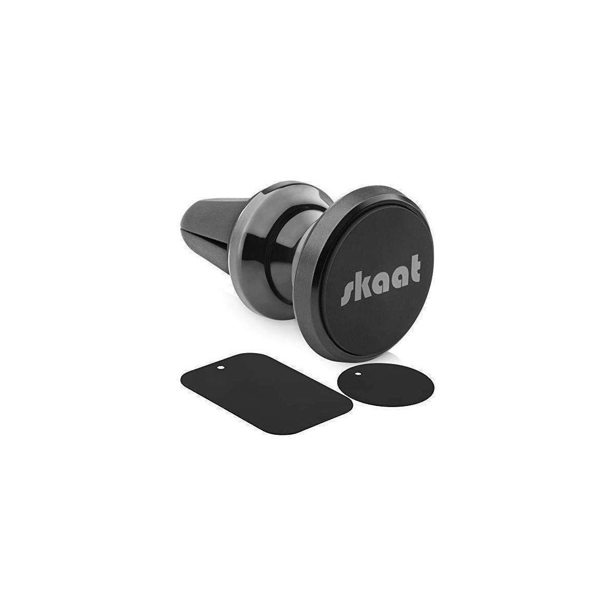 Car Vent Magnetic Phone Mount – Car Vent Magnet - Air Vent Magnetic Car Mount Phone Holder – 360 Degree Magnetic Vent Mount - Perfect for Any Cell Phones and Mini Tablets - in Stylish Black