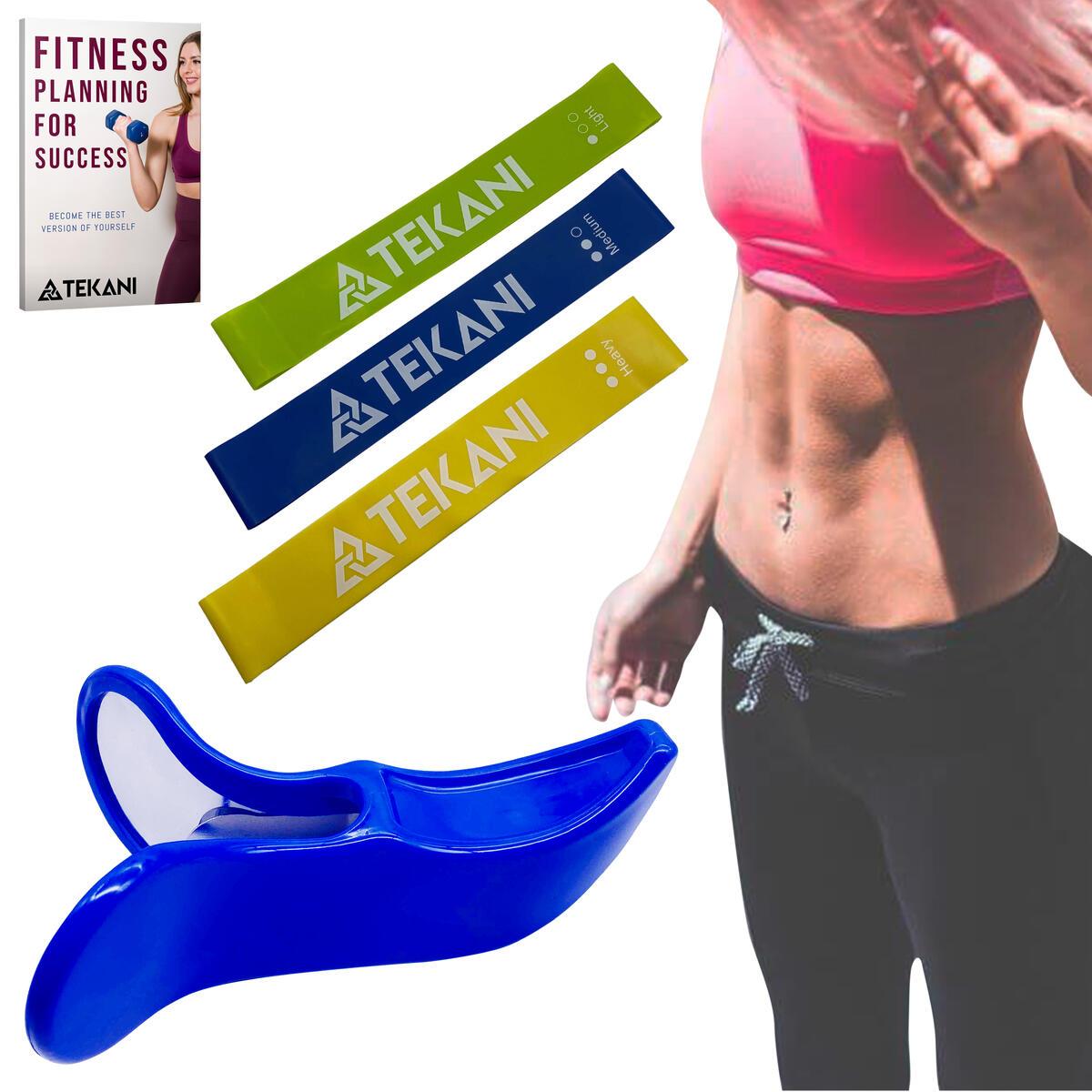 [UPGRADED-2020] Premium Hip Trainer Kegel Exerciser Pelgrip Pelvis Floor Muscle & Inner Thigh Exerciser for Buttocks - Pelvic Postpartum Rehabilitation - Resistance Bands & eBook Included