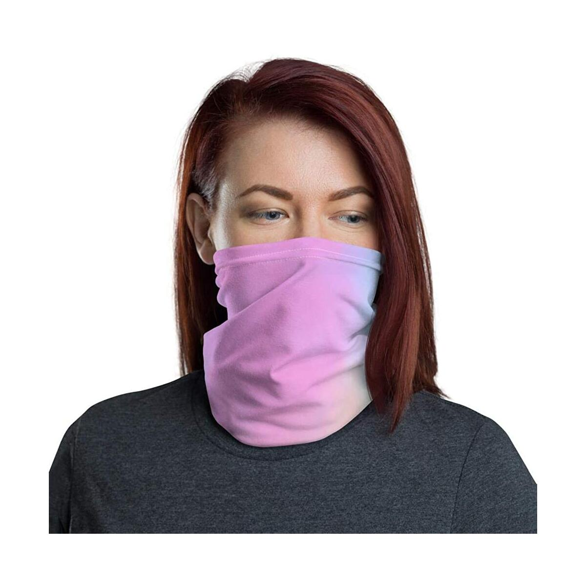 Neck Gaiter Face Mask Mouth Cover Bandanas for Dust, Outdoors, Festivals, Sports