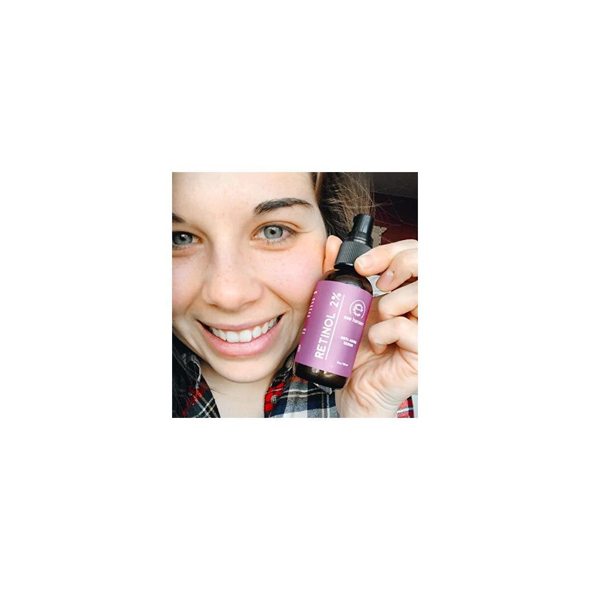Eve Hansen 2% Retinol Facial Serum for Skin Resurfacing Wrinkle Repair