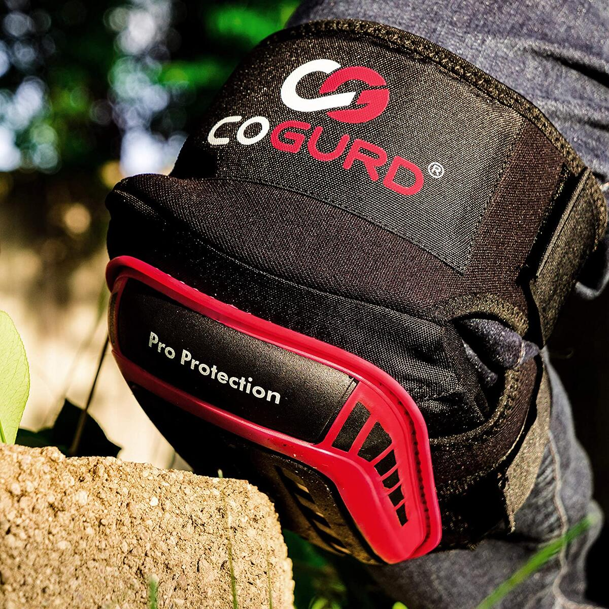 COGURD Professional Gel Knee Pads for Work Construction