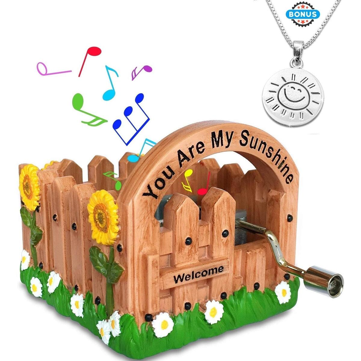 You are My Sunshine Music Boxes