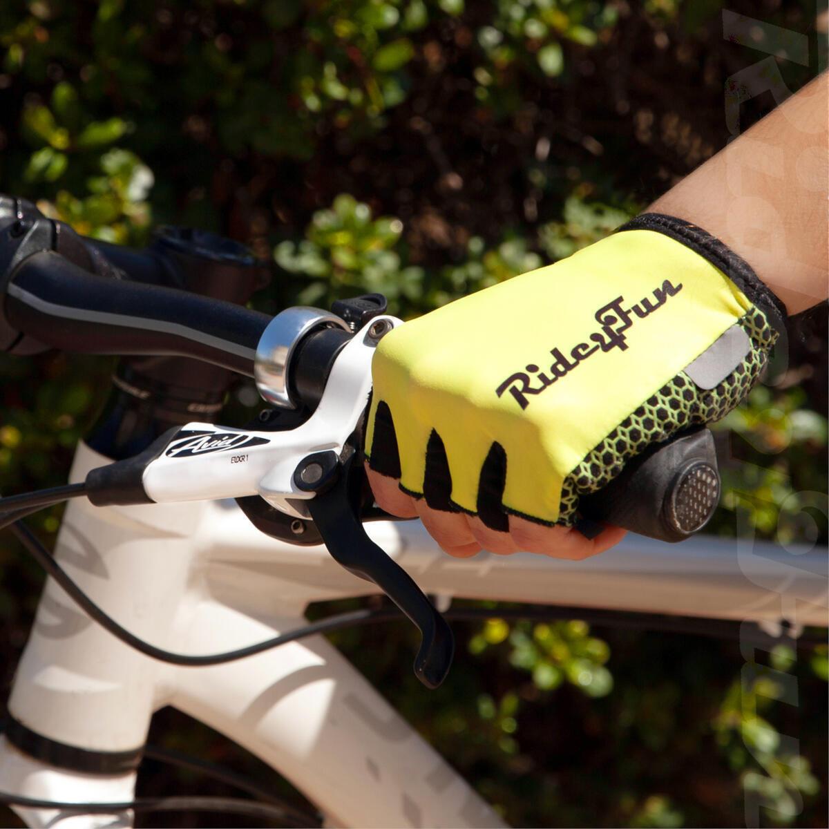 Half Finger Mountain Biking Gloves for Men. Gel Shock-Absorbing Bicycle Riding Road Bike Glove For Women. Best Fingerless Cycling Gloves for Mens / Womens