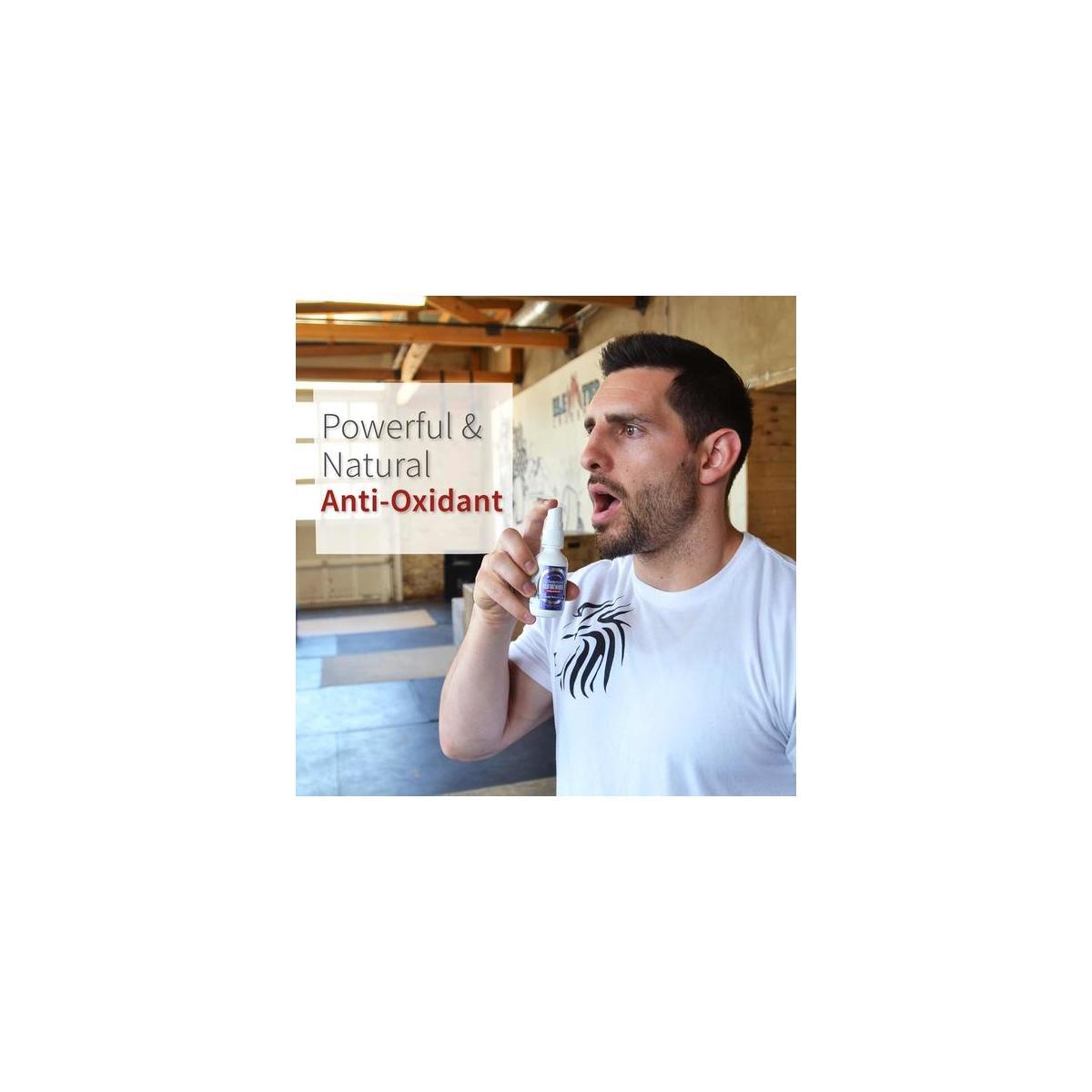Advanced Glutathione Spray - Nature's Antioxidant, Detox & Rejuvenator - 2 oz bottle