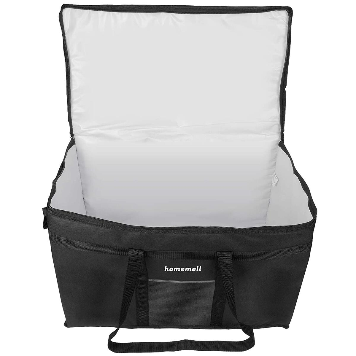 Food Delivery Bag xxxl Insulated Food Transportation Thermal Bag and Cold Bag for Groceries