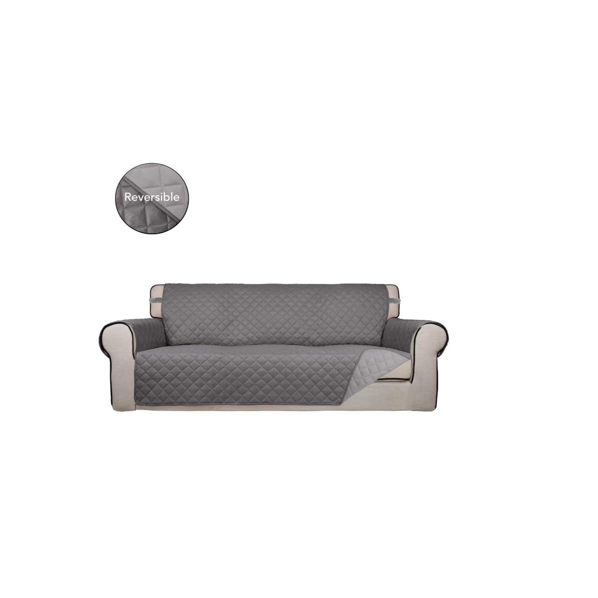 L-Shaped Sofa Cover for Left/Right Chaise Couch