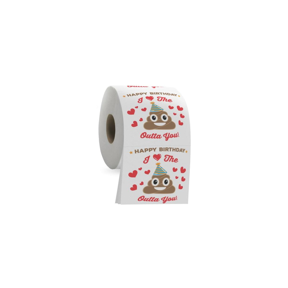 Happy Birthday Toilet Paper