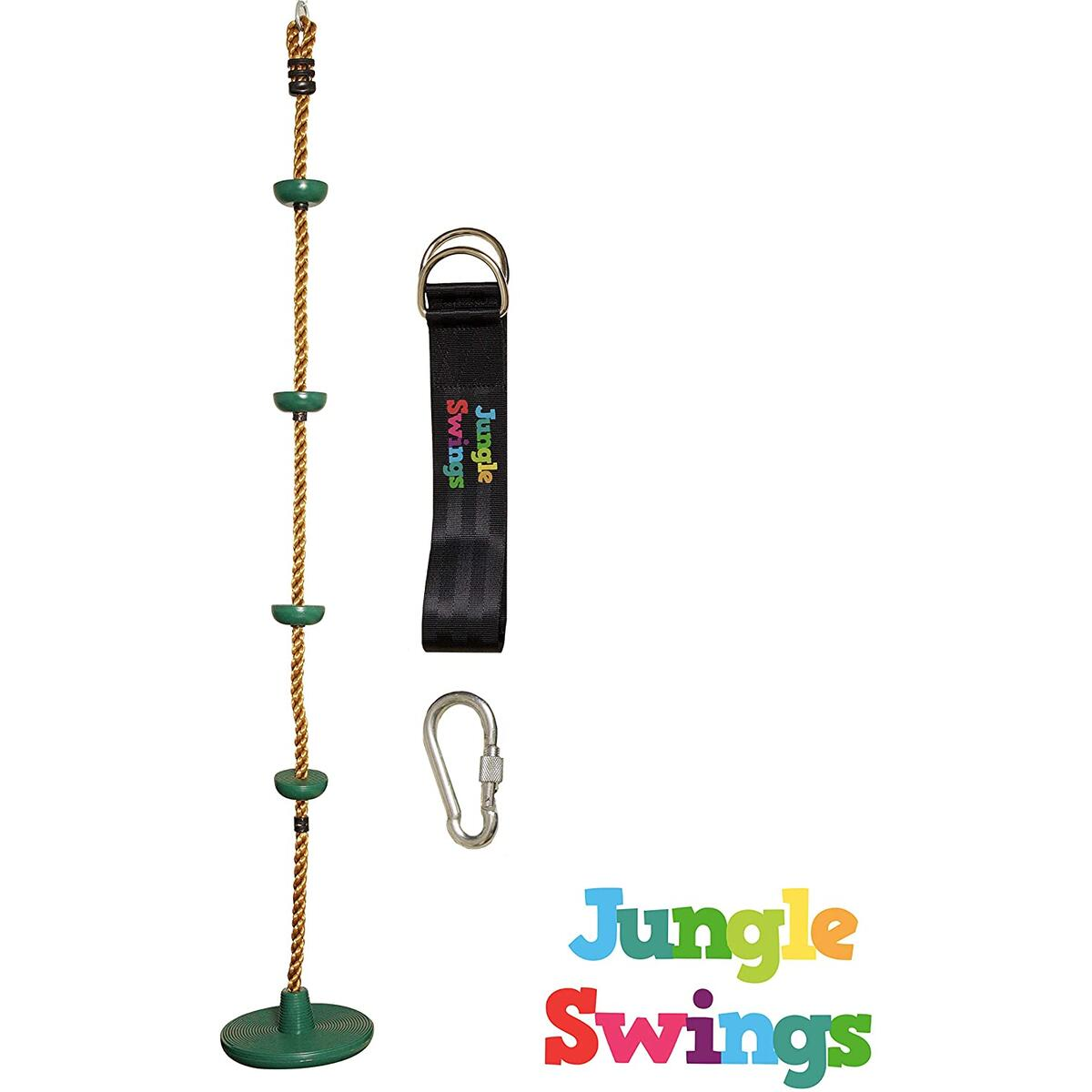 Climbing Rope with Discs