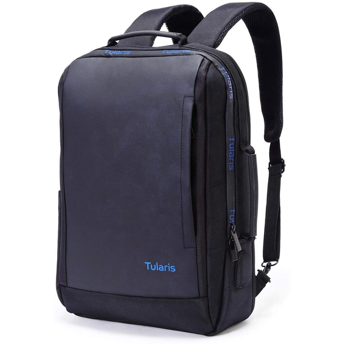Travel Laptop Backpack Anti Theft Water Resistant Fits up to 17.3 inch Laptop with USB Charging Professional Slim Travel Business Work Backpack For Men Women - Best For Office, Traveling & Everyday Laptop Commuter Backpack  by TULARIS
