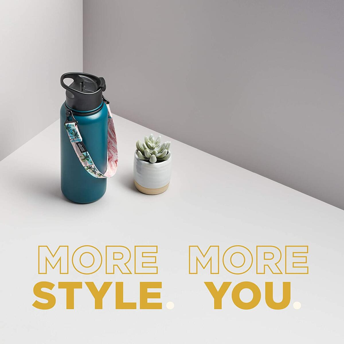Chill. Water Bottle Handle for Hydroflask and Other Brands