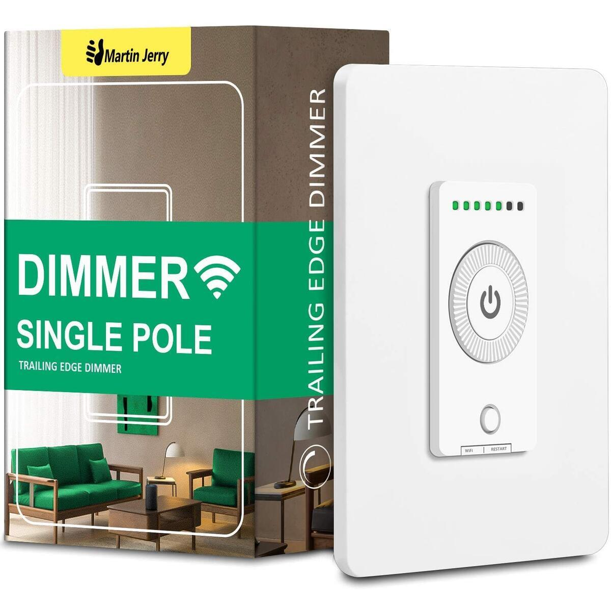 2020 New Smart Dimmer Switch (Rotary Dimmer) | Trailing Edge Dimmer