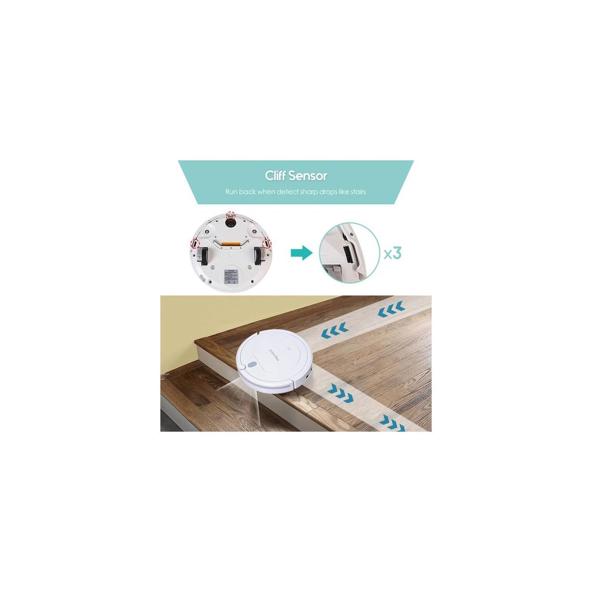Golongele Smart Clean Robot Vacuum Cleaner with Remote Control and HEPA Filter HB-1001 on Deal