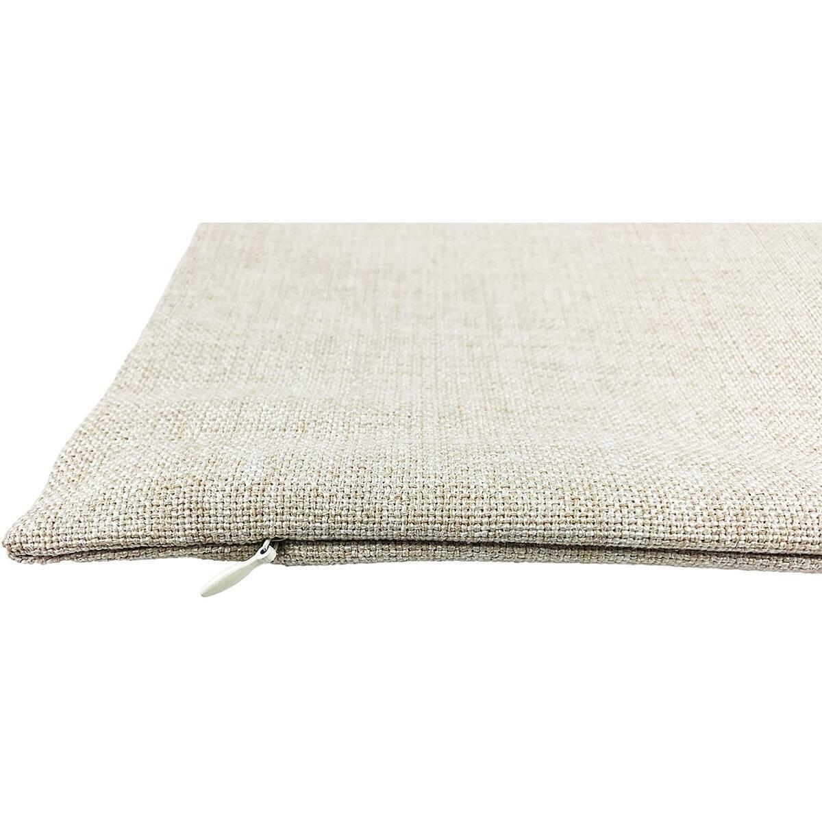 DrupsCo 18x18 California Pillow Cover - Cotton Linen California Throw Pillow Case, California Decorative Pillow