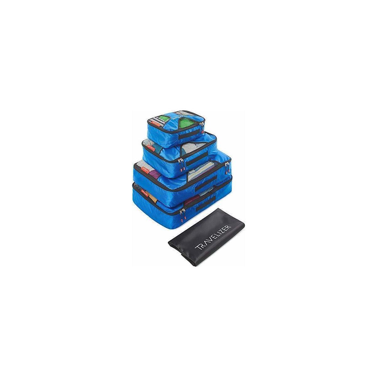Travel Packing Cubes 5pcs Luggage Organizer Set for Bag /& Suitcase Travelizer