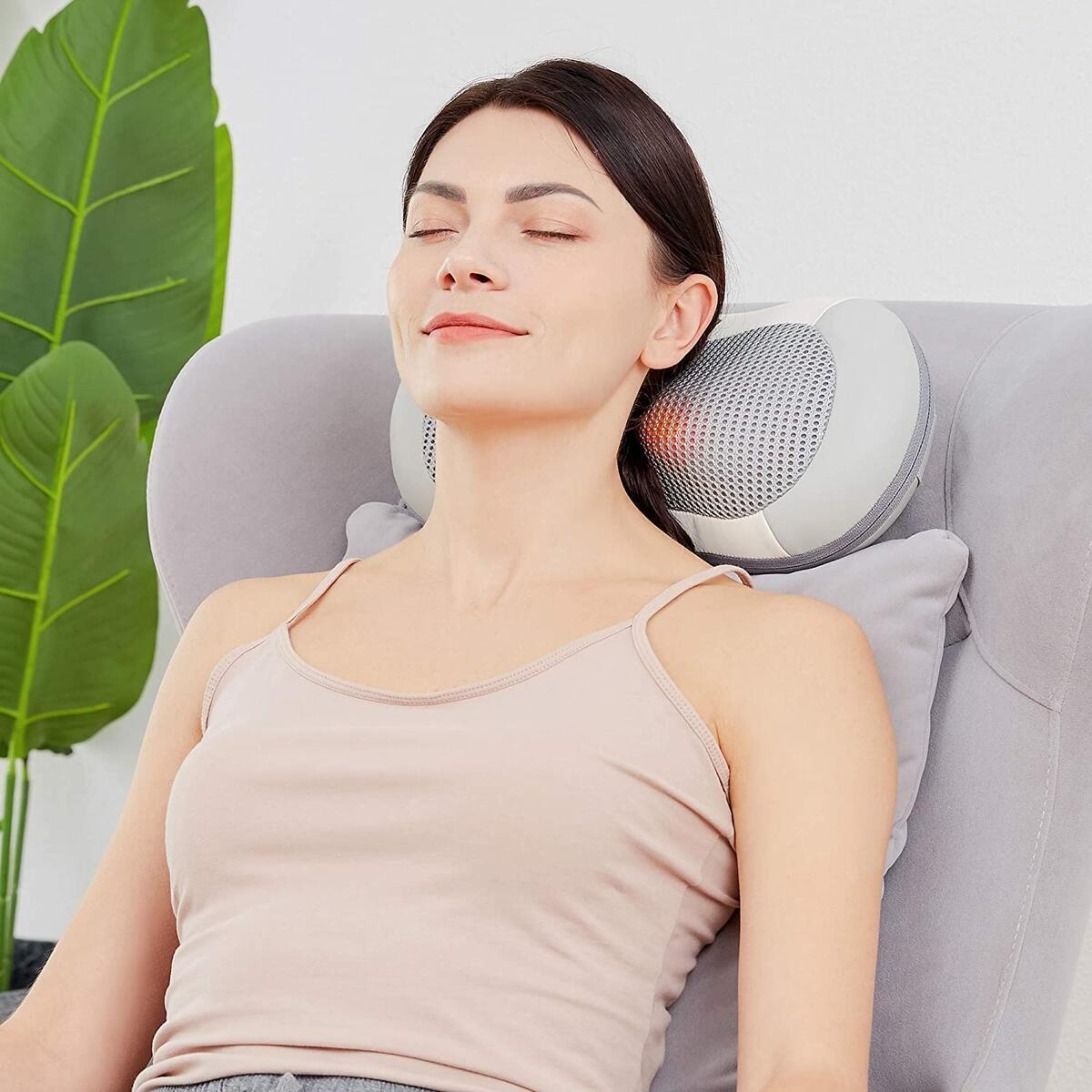 COBY Shiatsu Massage Pillow
