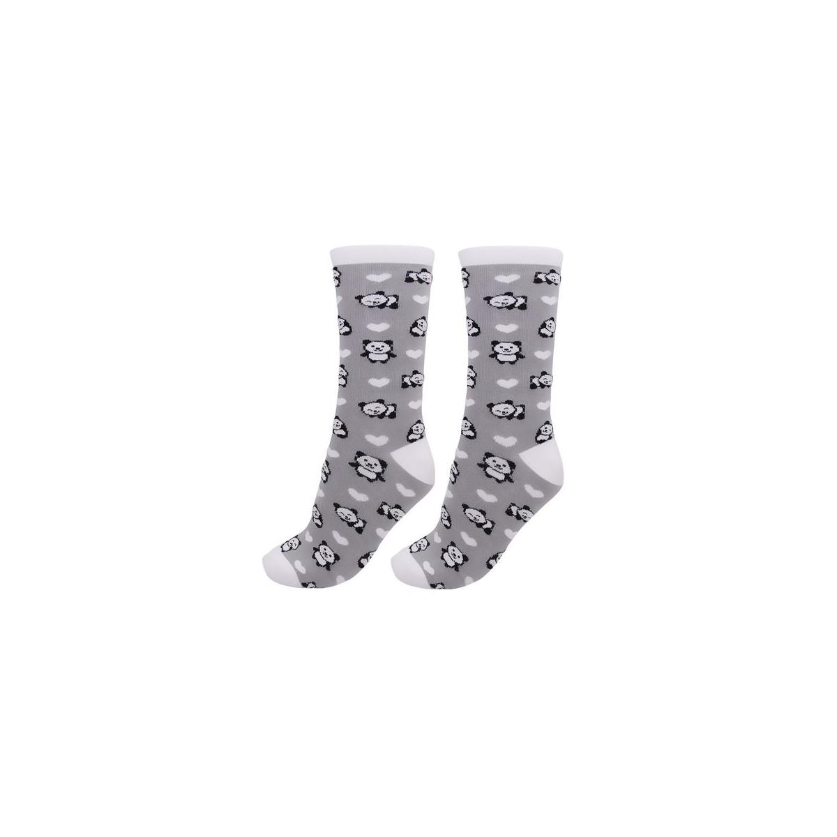 Cute Panda Bear Socks (Women's Shoe Size 5-10)
