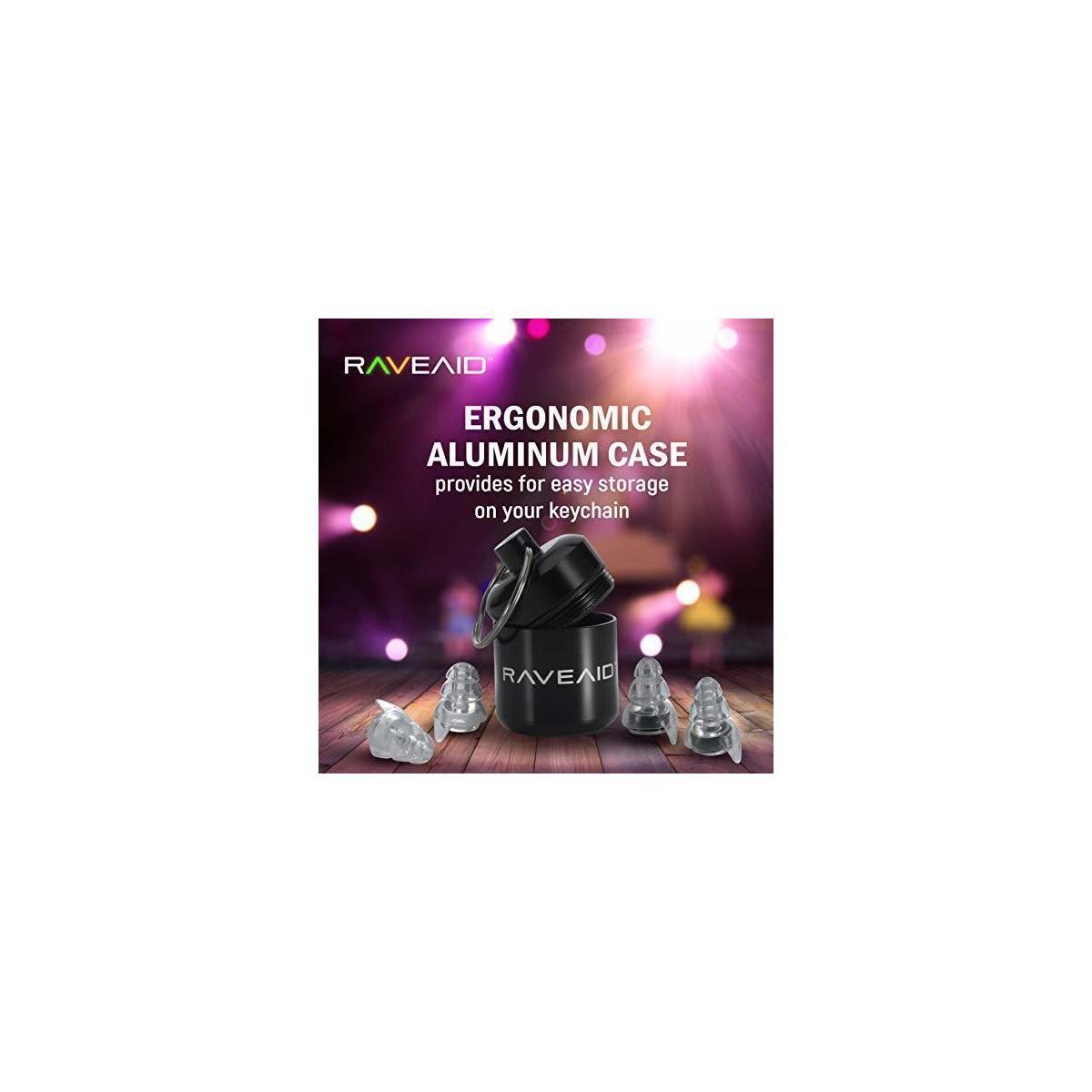 RaveAid High Fidelity Earplugs - 9.99