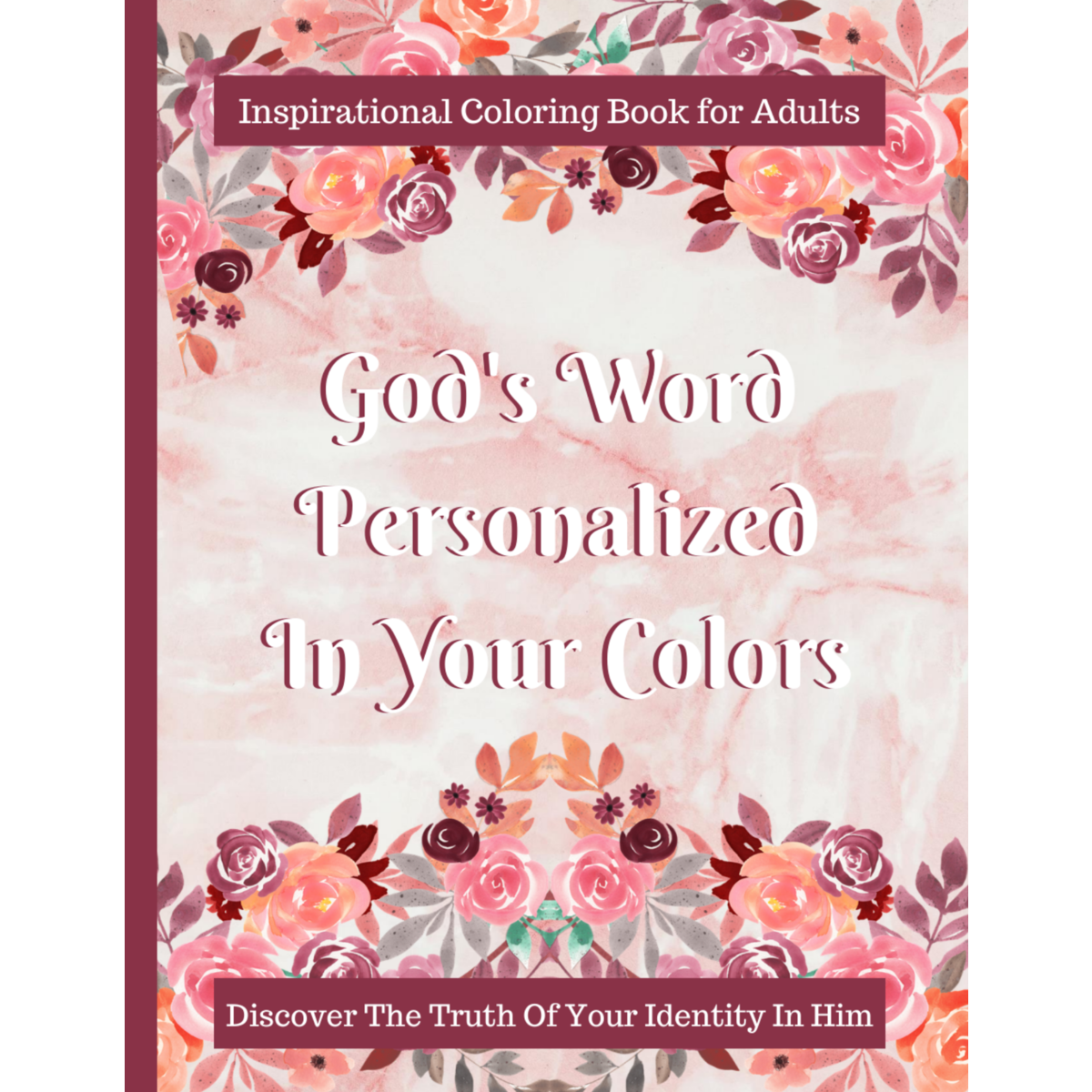 Christian Coloring Book - Identity In Christ